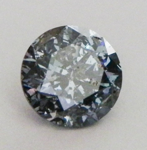 1.44 Ct. Round Brilliant I2 Fancy Medium Blue