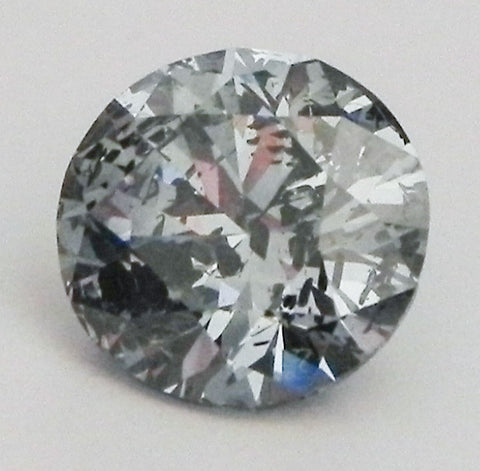 1.32 Ct. Round Brilliant I1 Fancy Medium Blue