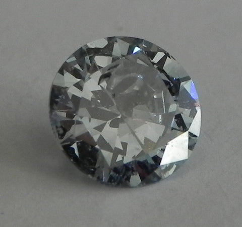 0.70 Ct. Round Brilliant I2 Fancy Medium Blue