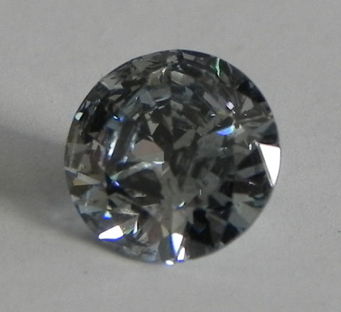 0.93 Ct. Round Brilliant I1 Fancy Medium Blue