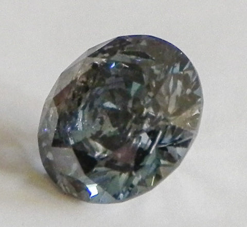 1.63 Ct. Round Brilliant I3 Fancy Intense Blue