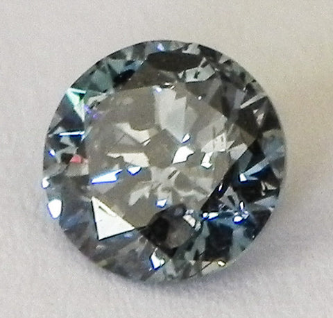 2.01 Ct. Round Brilliant I2 Fancy Medium Blue