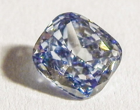 0.87 Ct. Cushion SI1 Fancy Medium Blue