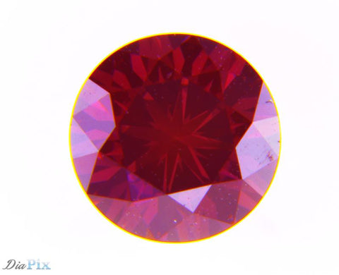0.50 Ct. Round Brilliant VS2 Fancy Intense Purplish-Pink