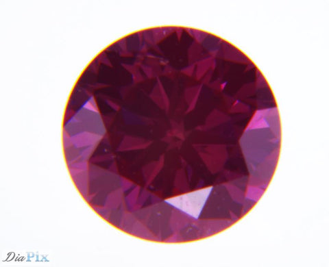 0.20 Ct. Round Brilliant VS1 Fancy Purple