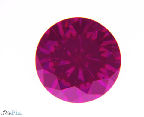 0.50 Ct. Round Brilliant VS1 Fancy Intense Purplish Red