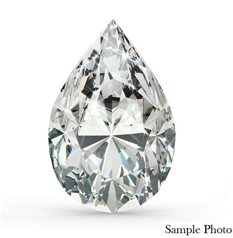 1.07 Ct. Pear Brilliant D VS2