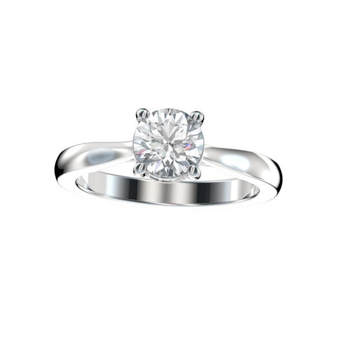 Faux Trellis Diamond Gallery Engagement Ring 0.06 Ct. TW.  (Setting Only)