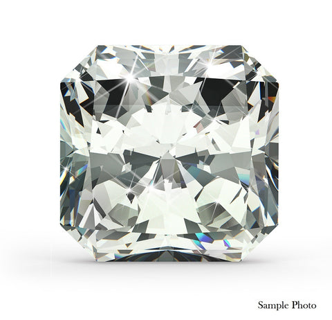 1.93 Ct. Cut Cornered Square Modified Brilliant F VVS2