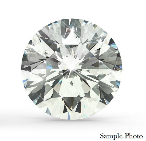 0.72 Ct. Ideal Cut Round Brilliant D VVS2