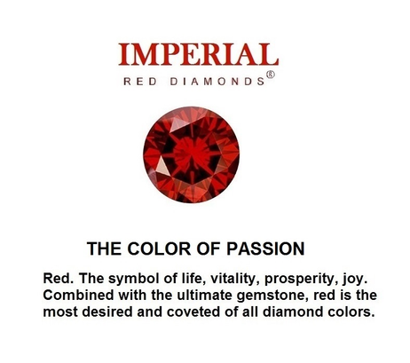 Imperial Red Diamonds