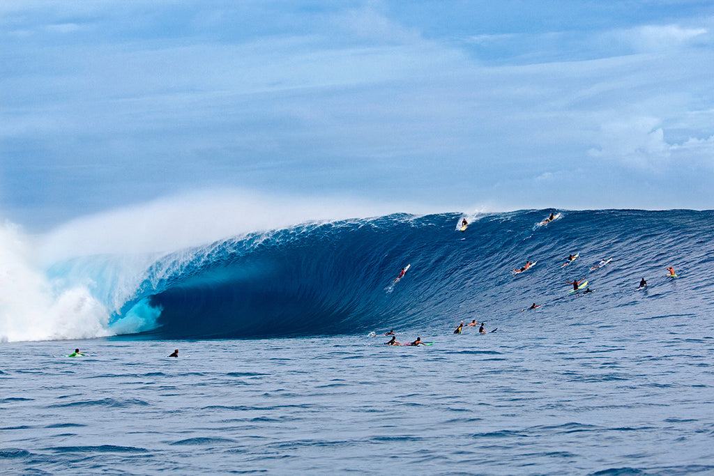Cloudbreak - Historic paddle session
