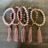 Blush Pink Tassel Single