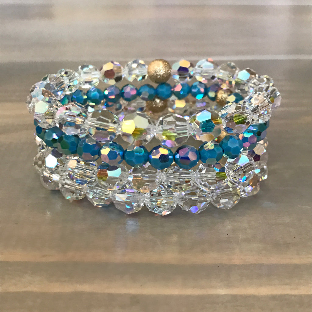 Bridal stack- SOMETHING BLUE
