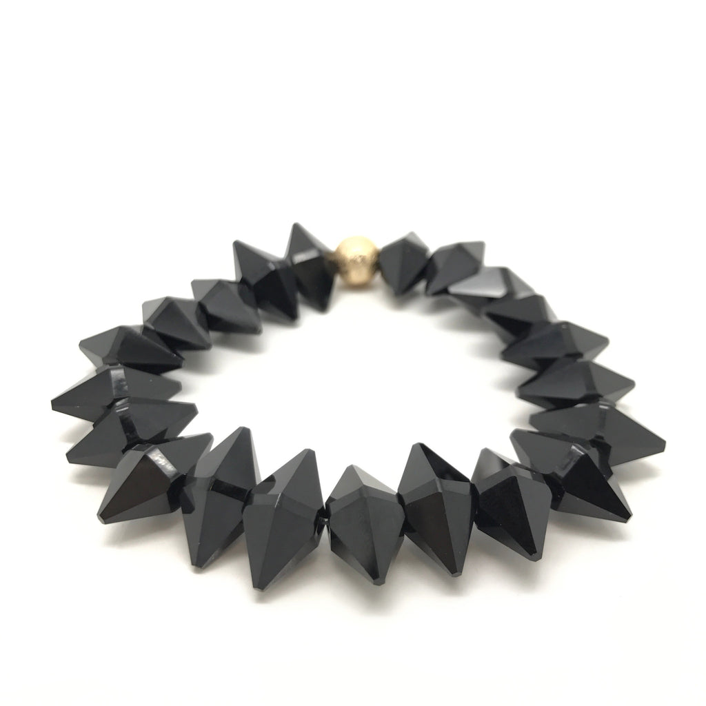 Full spike single- black