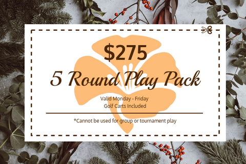 Poppy Ridge 5 Round Play Pack