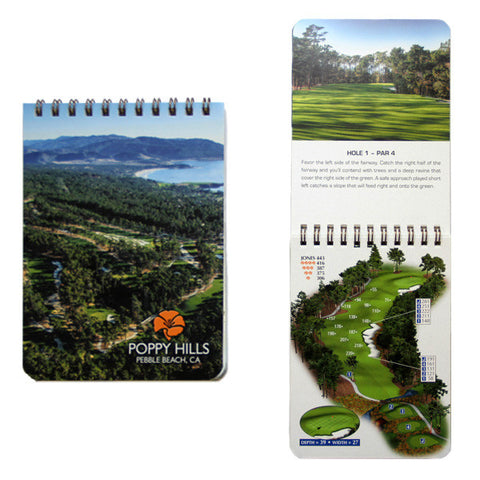 Poppy Hills Yardage Book