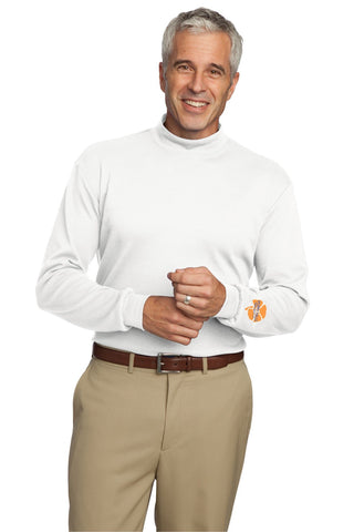 Men's Mock Turtleneck Long Sleeve