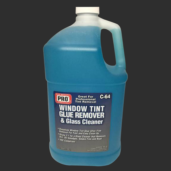 BAF-C-64 WINDOW TIN GLUE REMOVER & GLASS CLEANER