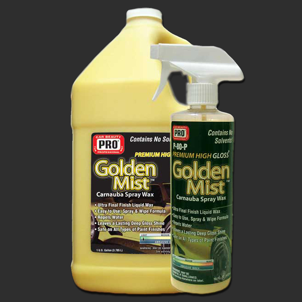 BAF-P-80 GOLDEN MIST™ CARNAUBA SPRAY WAX