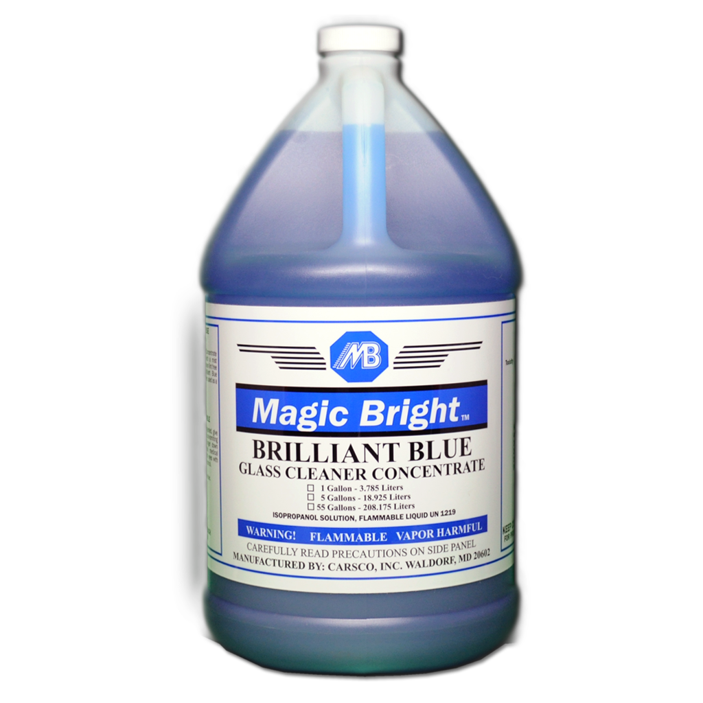 "MB-7501 ""BRILLIANT BLUE"" Glass Cleaner Concentrate"