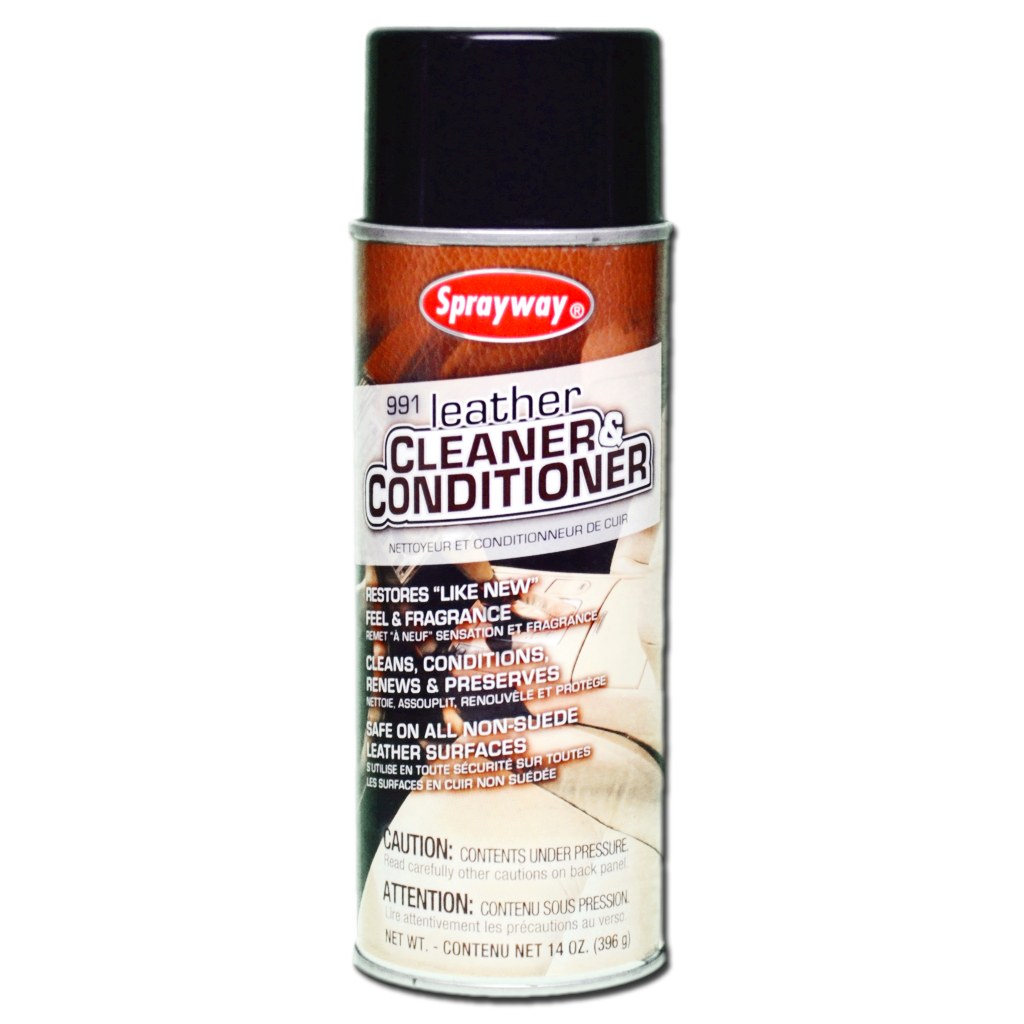 SPR-SW-991 SPRAYWAY LEATHER CLEANER & CONDITIONER