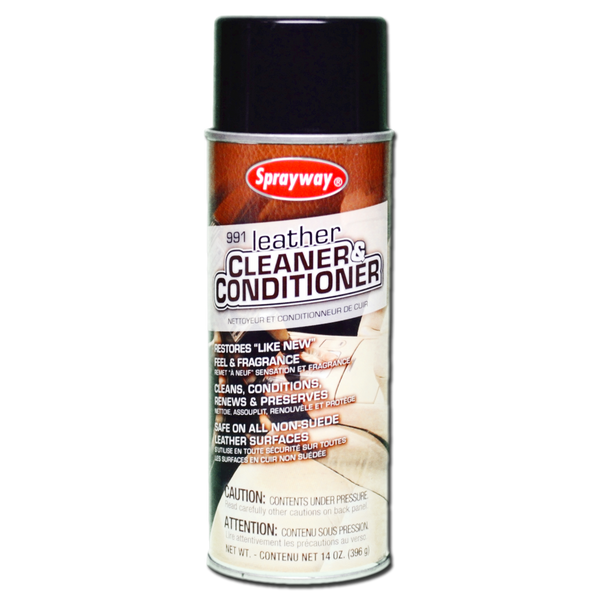 SPR-991 SPRAYWAY LEATHER CLEANER & CONDITIONER