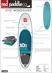 "Windsurfer 10' 8"" Inflatable SUP by Red Paddle Co"