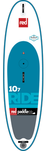 "Red Paddle Co Ride 10'7"" Inflatable Wind SUP 2017"