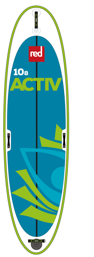 "Red Paddle Co Canada Activ 10'8"" Inflatable SUP 2017"