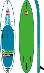 "Red Paddle Co 12'6"" Explorer Inflatable SUP touring Board - 2017"