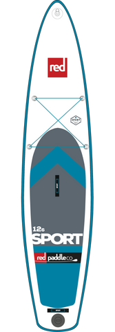 "Red Paddle Co Canada 12'6"" Sport Inflatable SUP 2017"