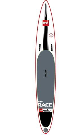 "Red Paddle Co Canada 14'0"" RACE Inflatable SUP 2017"