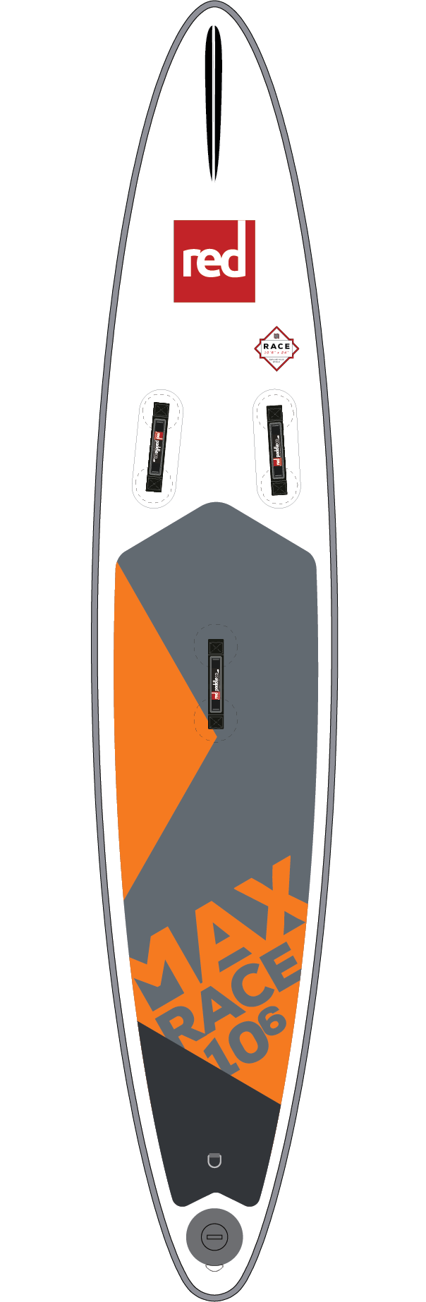 Red Paddle Co MAX RACE 10'6