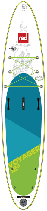 Red Paddle Co Voyager 12'6 Inflatable Paddleboard Package 2018