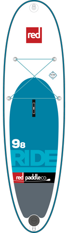 "Used Inflatable Paddleboards - Red Paddle Co Ride 9'8"" - 2017"