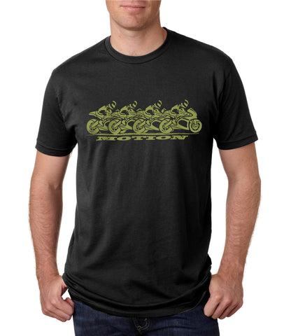 The SUPERBIKES in MOTION Shirt in Green