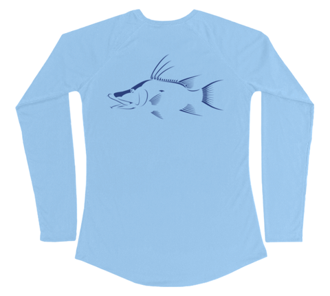 Hogfish Performance Build-A-Shirt (Women - Back / CB)