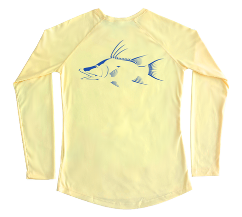 Hogfish Performance Build-A-Shirt (Women - Back / PY)