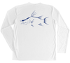 Hogfish Performance Build-A-Shirt (Back / WH)