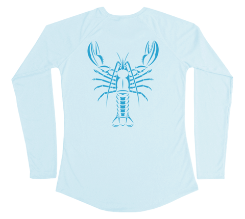 Maine Lobster Performance Build-A-Shirt (Women - Back / AB)