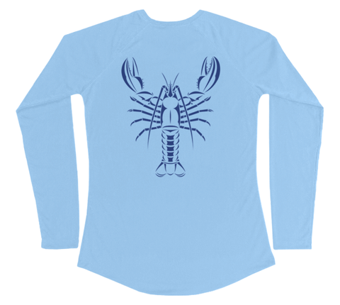 Maine Lobster Performance Build-A-Shirt (Women - Back / CB)