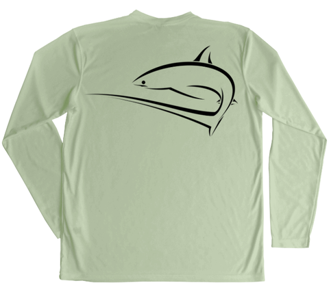 Thresher Shark Performance Build-A-Shirt (Back / SE)