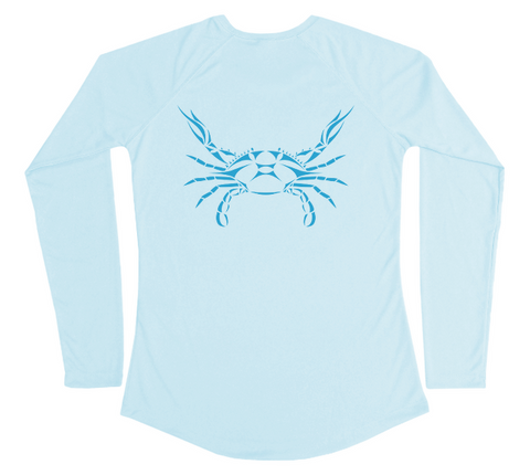 Blue Crab Performance Shirt (Women)