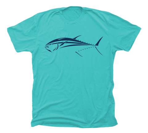 Bluefin Tuna T-Shirt - Tuna Saltwater Fishing Shirt