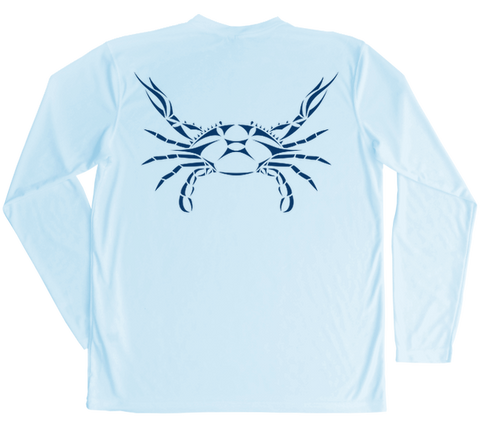 Blue Crab Performance Build-A-Shirt (Back / AB)