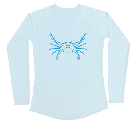 Blue Crab Performance Build-A-Shirt (Women - Front / AB)