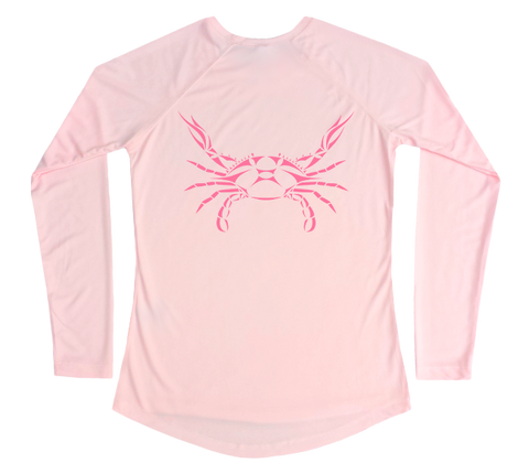Blue Crab Performance Build-A-Shirt (Women - Back / PB)