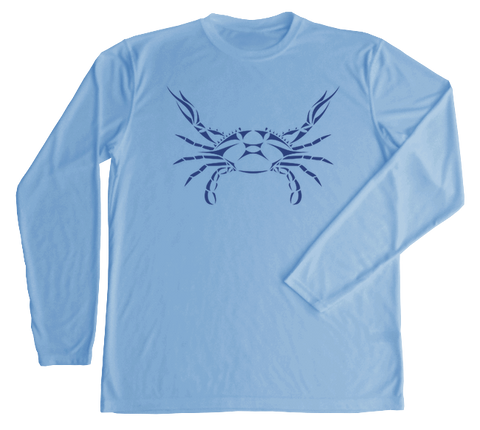 Blue Crab Performance Build-A-Shirt (Front / CB)