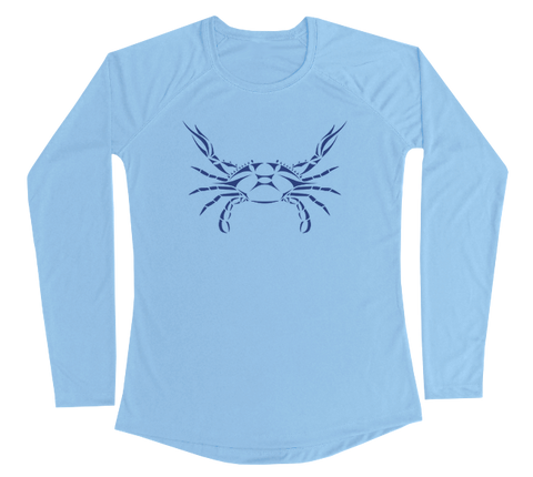 Blue Crab Performance Build-A-Shirt (Women - Front / CB)